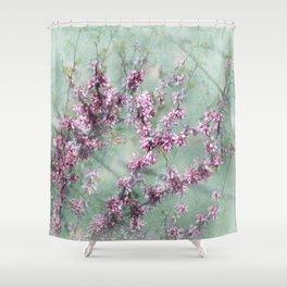 Judas Tree Shower Curtain