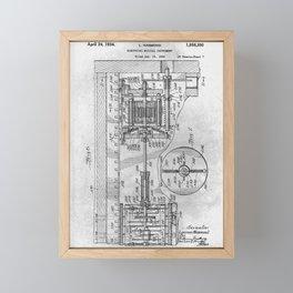 Electrical musical instrument Framed Mini Art Print