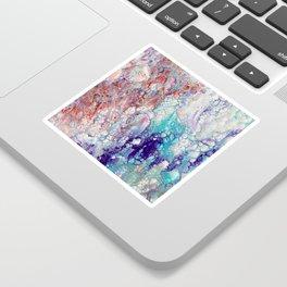 Fantasy (red, blue, purple) Sticker