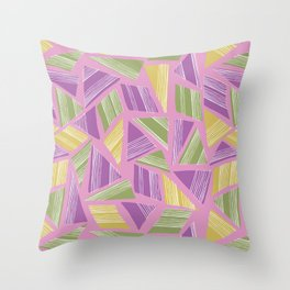 Tropical Geo Throw Pillow