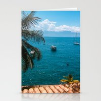 boats Stationery Cards featuring Boats by Mauricio Santana