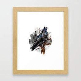 Dark Raven Framed Art Print