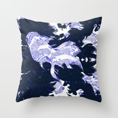FISH PARADISE V7 Throw Pillow