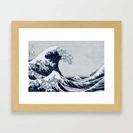 The Great Wave - By Hokusai Framed Art Print