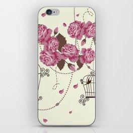 Art Flowers V12 iPhone Skin