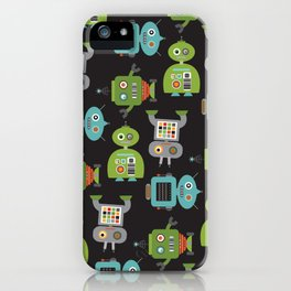 Robot Life iPhone Case