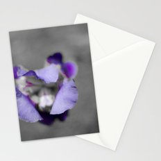 Purple and grey Stationery Cards