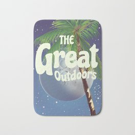 The Great Outdoors Moon Bath Mat