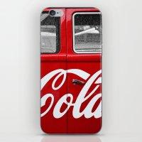 coca cola iPhone & iPod Skins featuring Coca Cola  by Lia Bernini