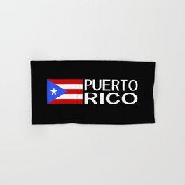 Puerto Rico: Puerto Rican Flag & Puerto Rico Hand & Bath Towel