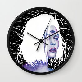 Hybrid Daughters I Wall Clock