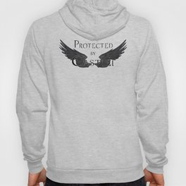 Protected by Castiel Black Wings Hoody