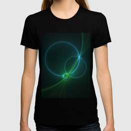 Light Flight, Abstract Fractal Art T-shirt