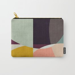 shapes abstract Carry-All Pouch