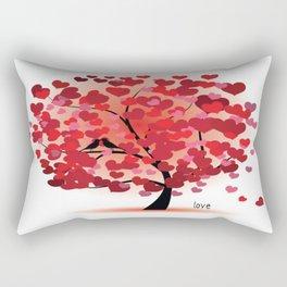 tree of love Rectangular Pillow