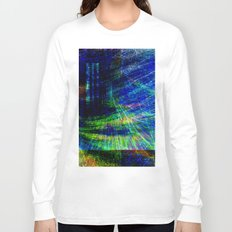 abstract geometric Long Sleeve T-shirt