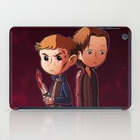 winchester iPad Cases featuring Winchester brothers by Kaori