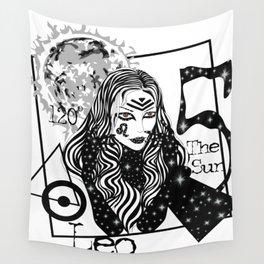 Leo - Zodiac Sign Wall Tapestry