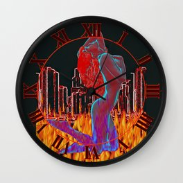Save Our City Wall Clock
