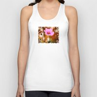 cosmos Tank Tops featuring Cosmos by LudaNayvelt