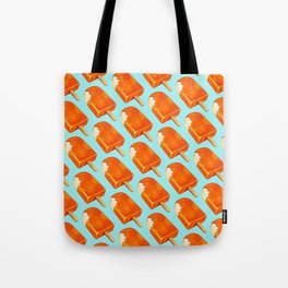 Popsicle Pattern - Creamsicle Tote Bag