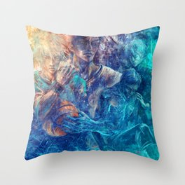 From oceans we rose Throw Pillow