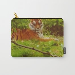 Tiger in the grass Carry-All Pouch