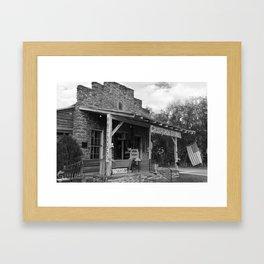 Cross Roads Store Framed Art Print