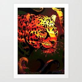 Metallic Glow Art Print