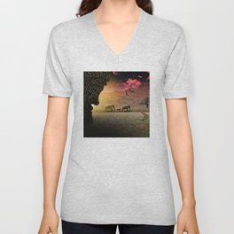 Stalking nature Unisex V-Neck