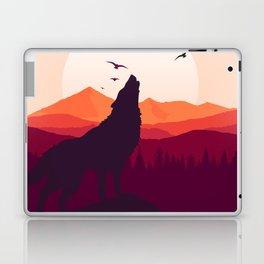 Bark At The Moon Laptop & iPad Skin