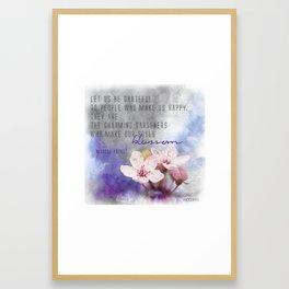Our Charming Gardeners Framed Art Print