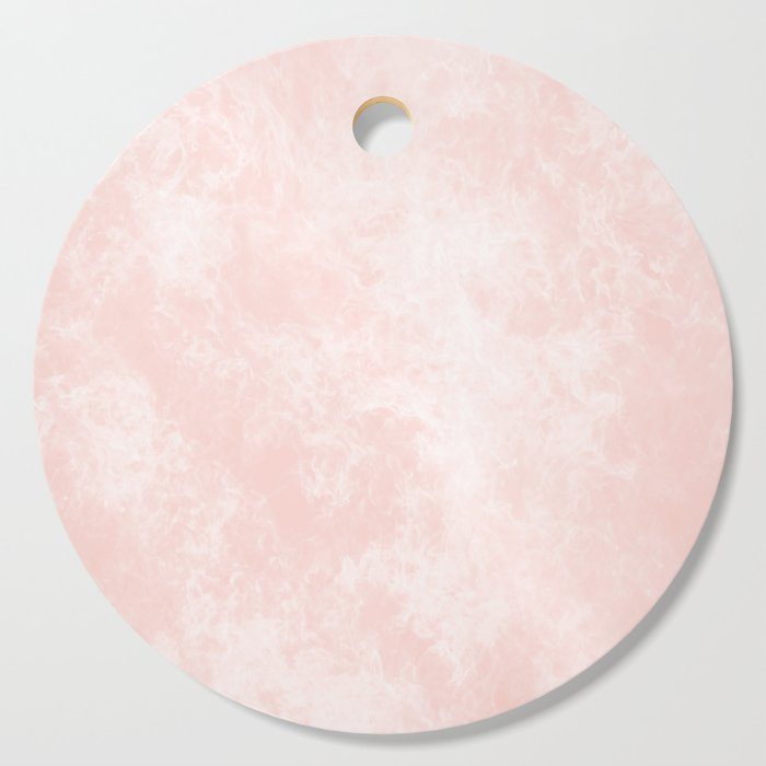 Pink Coral Marble Cutting Board