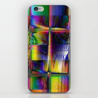 plaid iPhone & iPod Skins featuring Plaid by Robin Curtiss