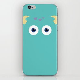 PIXAR CHARACTER POSTER - Sulley 2- Monsters, Inc. iPhone Skin