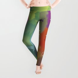 Color Forest Leggings