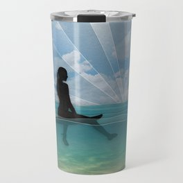 View from a Surfboard Travel Mug