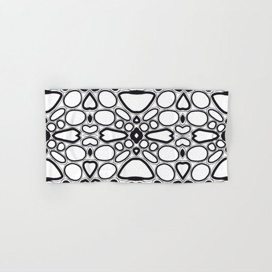 fancy grid Hand & Bath Towel