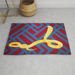 Art Deco Snake Rug