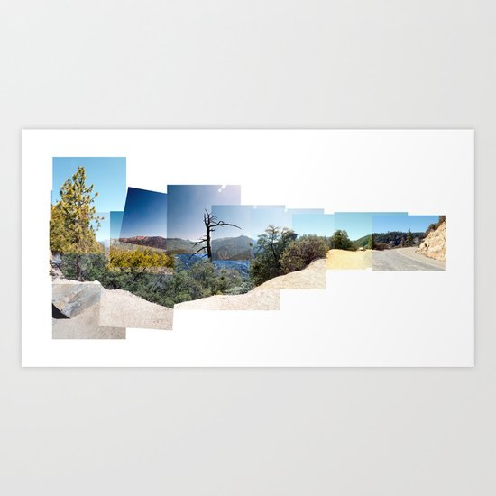California Mountains Art Print