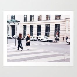 Parisien Art Print
