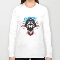 anarchy Long Sleeve T-shirts featuring Anarchy queen by Tshirt-Factory