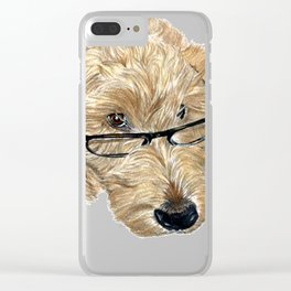 Goldendoodle Stella Clear iPhone Case