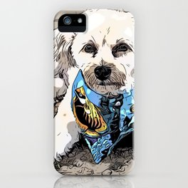 Copper the Havapookie iPhone Case