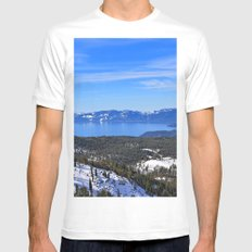 Tahoe Mens Fitted Tee White MEDIUM