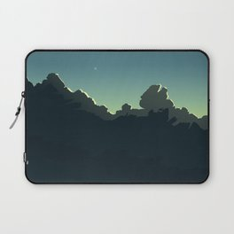 Cloudscape Blue and Green Laptop Sleeve