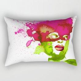 Fleur masquée Rectangular Pillow