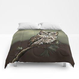 Screech Owl Comforters