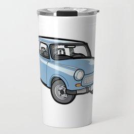 German Trabant DDR Oldtimer Youngtimer Classic Car Travel Mug