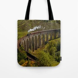 Heading To School Of Wizardy And Magic Tote Bag